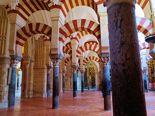 Mosquée-Cathédrale de Cordoue en Andalousie