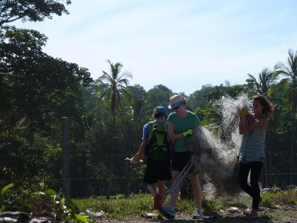 Chantier des jeunes québecois avec Terra Caribea au Panama
