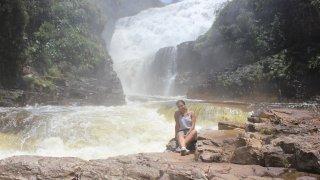 Nivea aux chutes dos Couros – Brésil