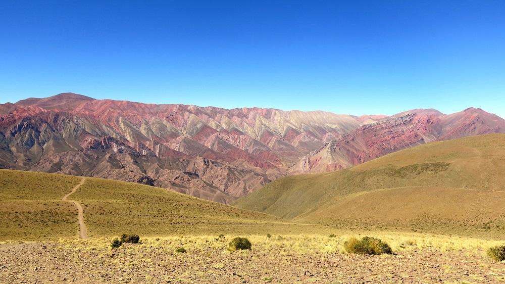 Hornocal, far west argentin