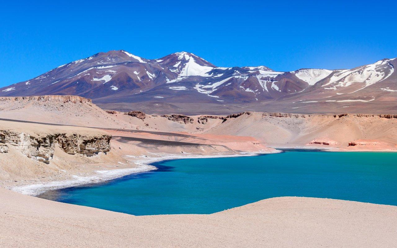 Ojos del salado et laguna verde, Chili – volcans Amérique Latine – © Noradoa/stock.adobe.com