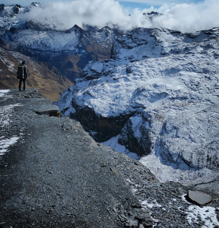 Depuis le col Abra Chucura – Bolivie
