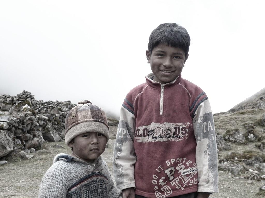 Enfants locaux – Bolivie