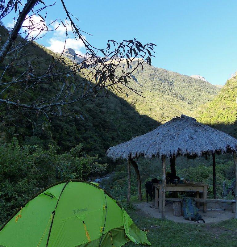 Campement à Choro – Bolivie