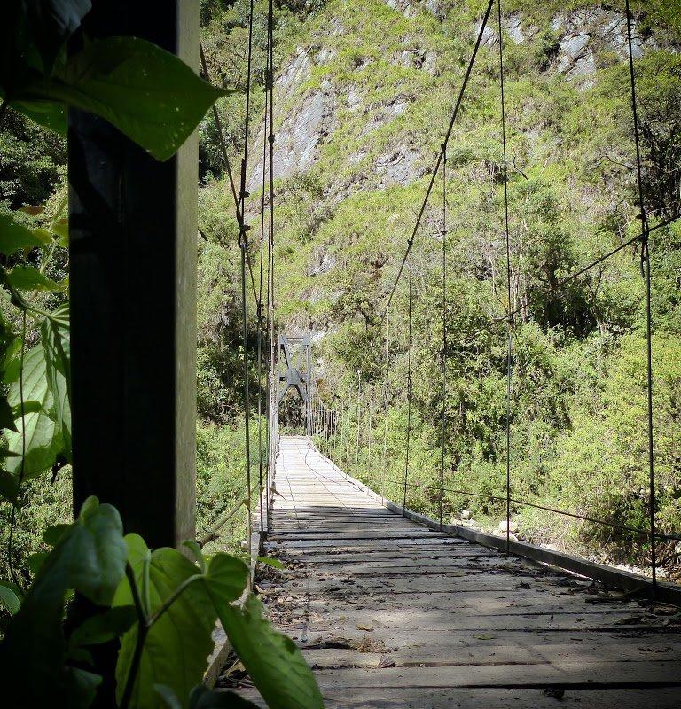 Pont suspendu – Bolivie