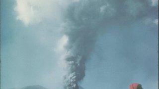 Paracutin en 1943, Mexique – volcans Amérique Latine – © K.Segerstrom, U.S. Geological Survey