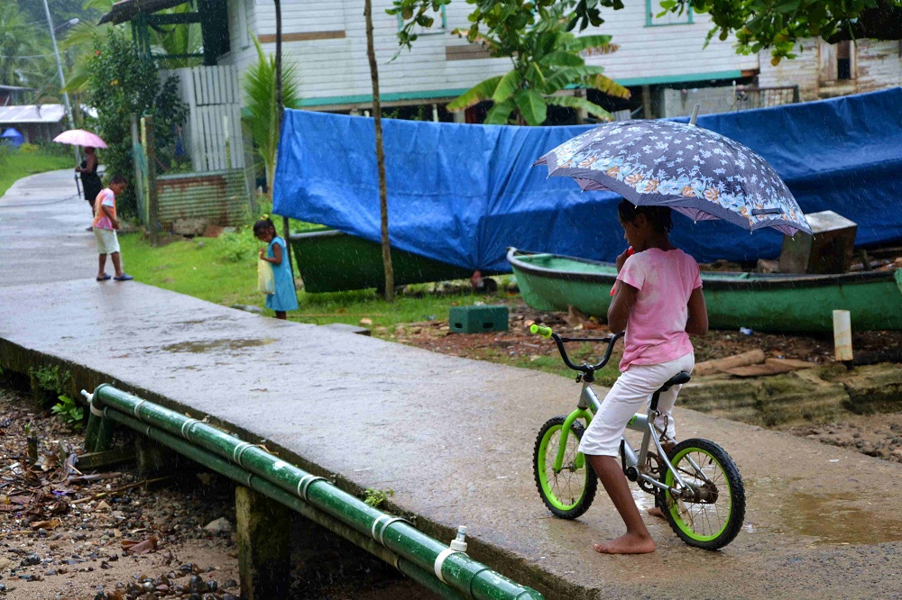 Dans les ruelles de Bocas – archipel Bocas del Toro – Panama
