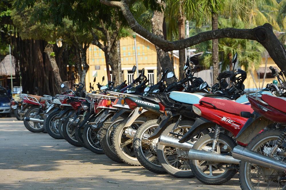 Parking de mototaxis à Rurrenabaque – Amazonie bolivienne