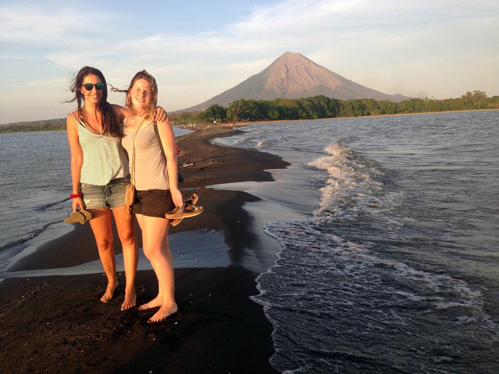 Pauli et Gabrielle, Punta Maria Jesus, Nicaragua