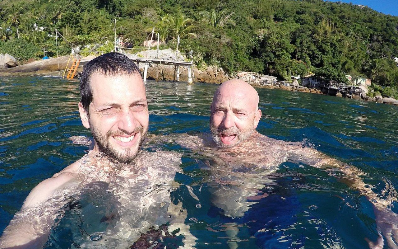Pause baignade à Ponta da Joatinga