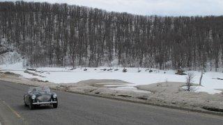 Paysage de la Patagonie sous la neige – Raid en Argentine / Chili