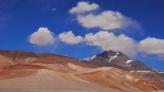 Paysages montagneux au Nord du Chili