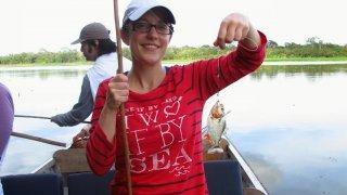 Pêche aux piranhas sur le lac Corrientes – Amazonie, Pérou