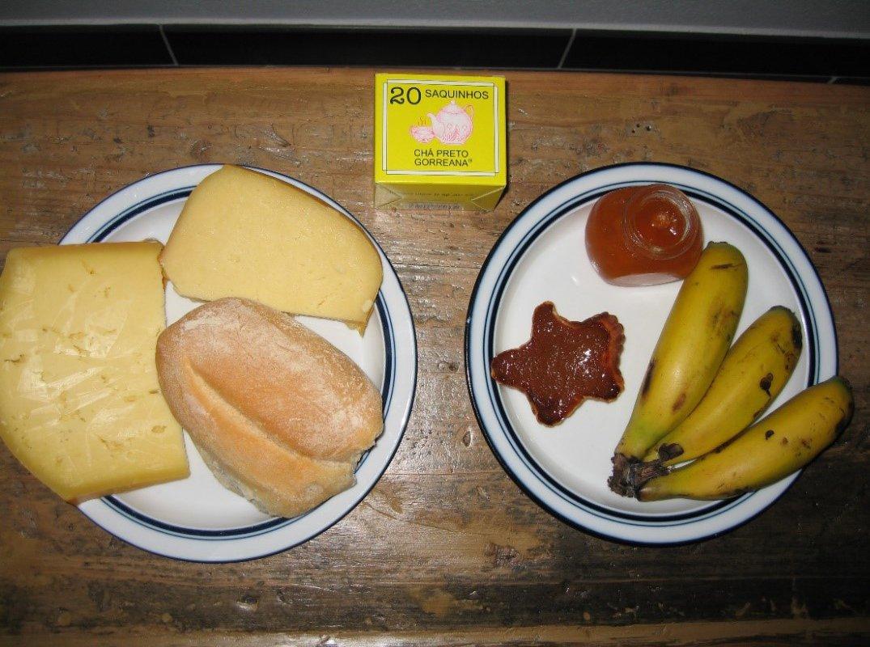 Petit déjeuner typique des Açores