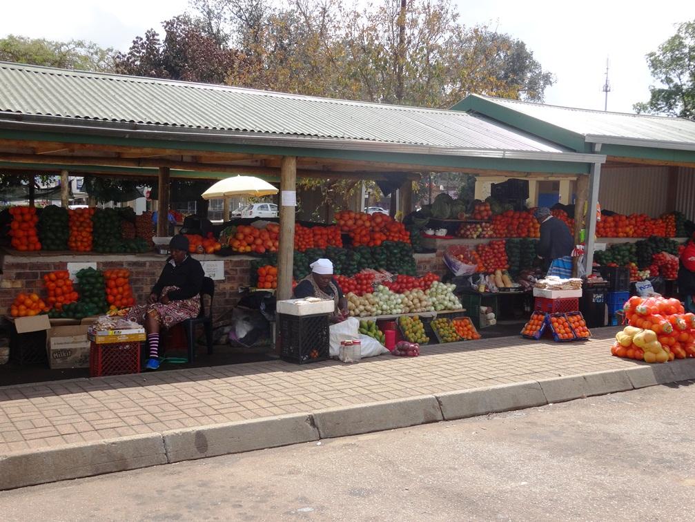 Marché dans la ville de Sabie – Afrique du Sud