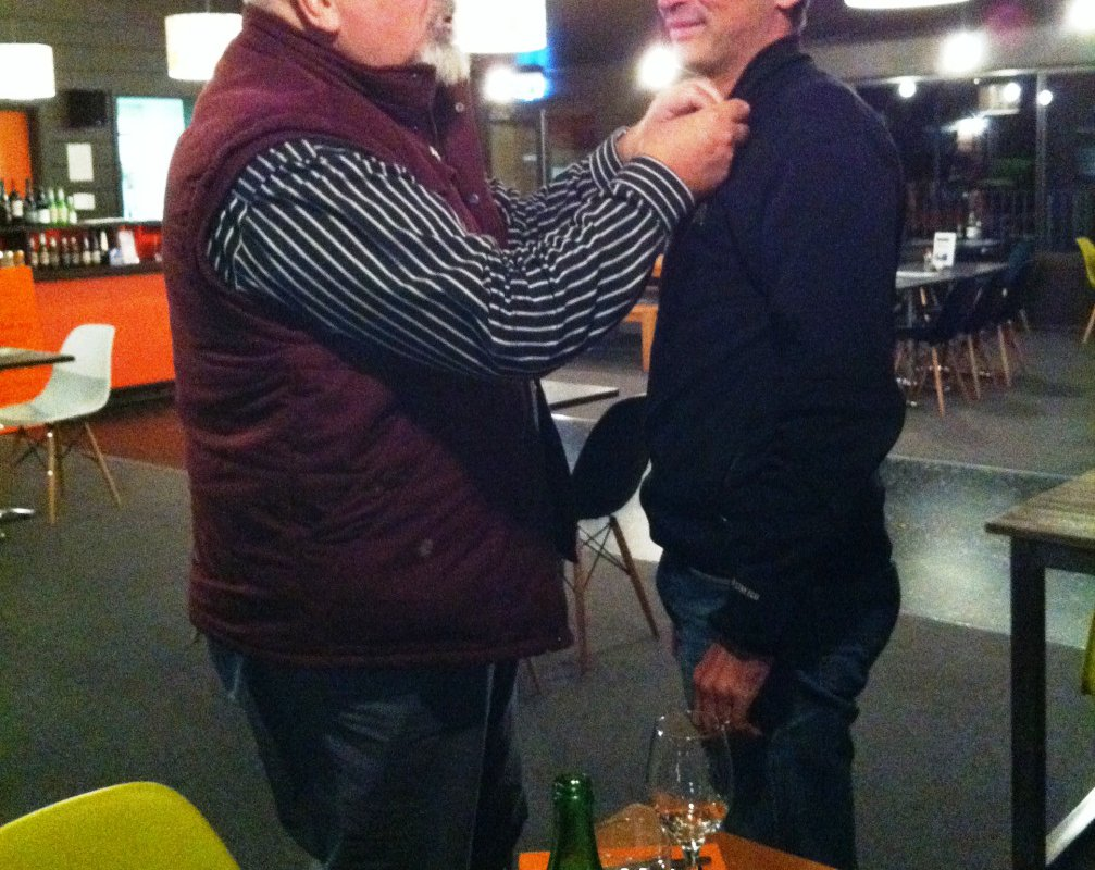 Christophe avec Bertrand Cadart – Tasmanie, Australie