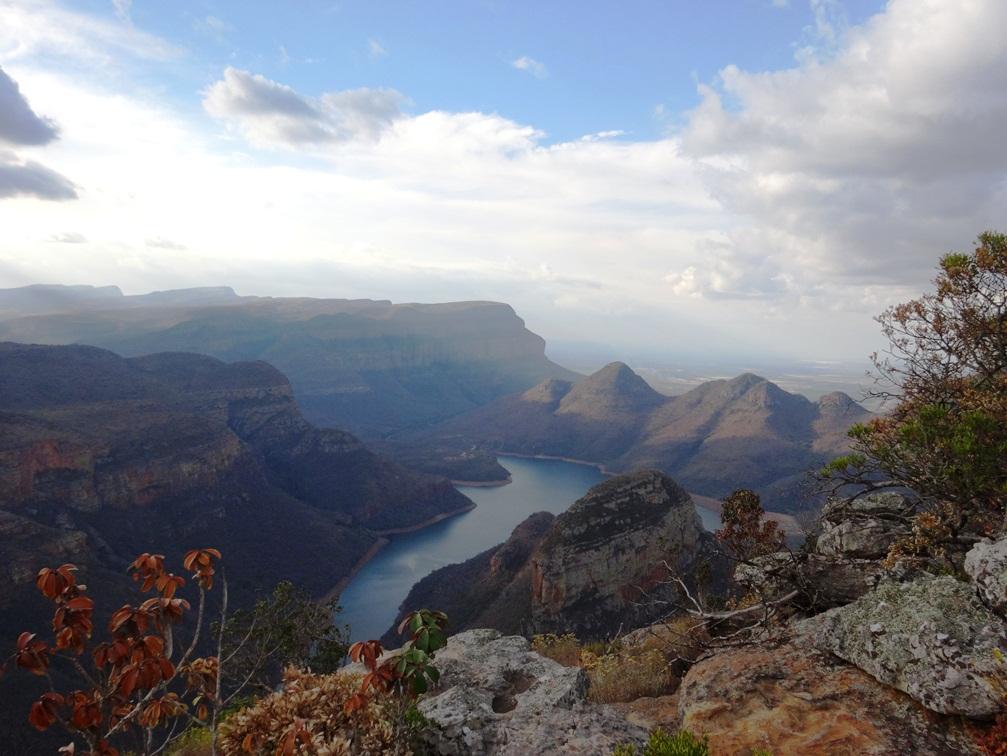 Vue à couper le souffle des Three Rondavels – Afrique du Sud