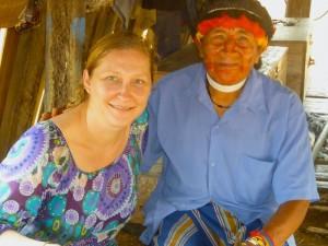 Le chaman de la communauté Achuar – Equateur