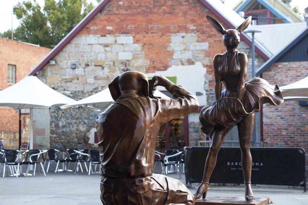 Hobart, Salamanca – Tasmanie, Australie