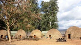 Huttes traditionnelles dans le Village de Beehive