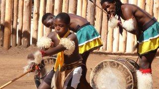 Danses traditionnelles de la culture Swazie