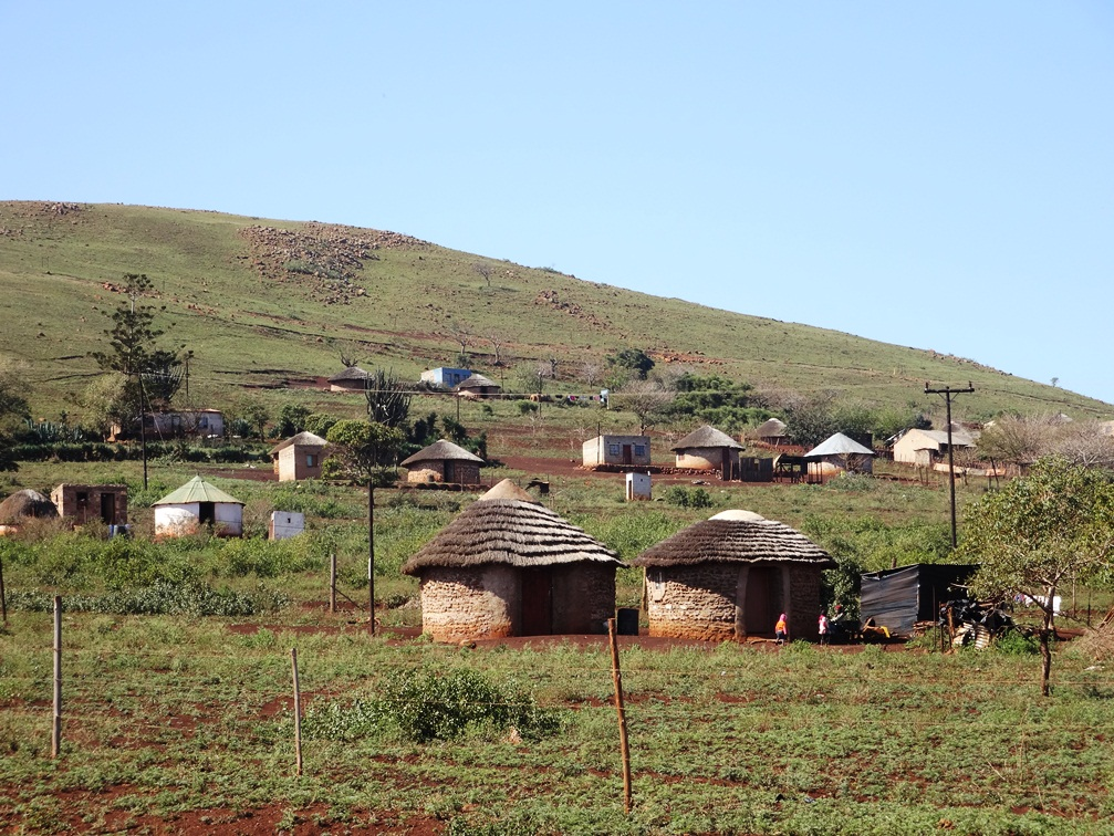 Habitation dans la région du KwaZulu-Natal