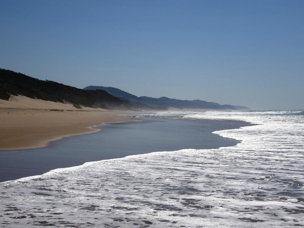 Plage de Cape Vidal – Durban, Afrique du Sud