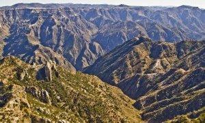 Canyons à Posadas Barrancas au Mexique