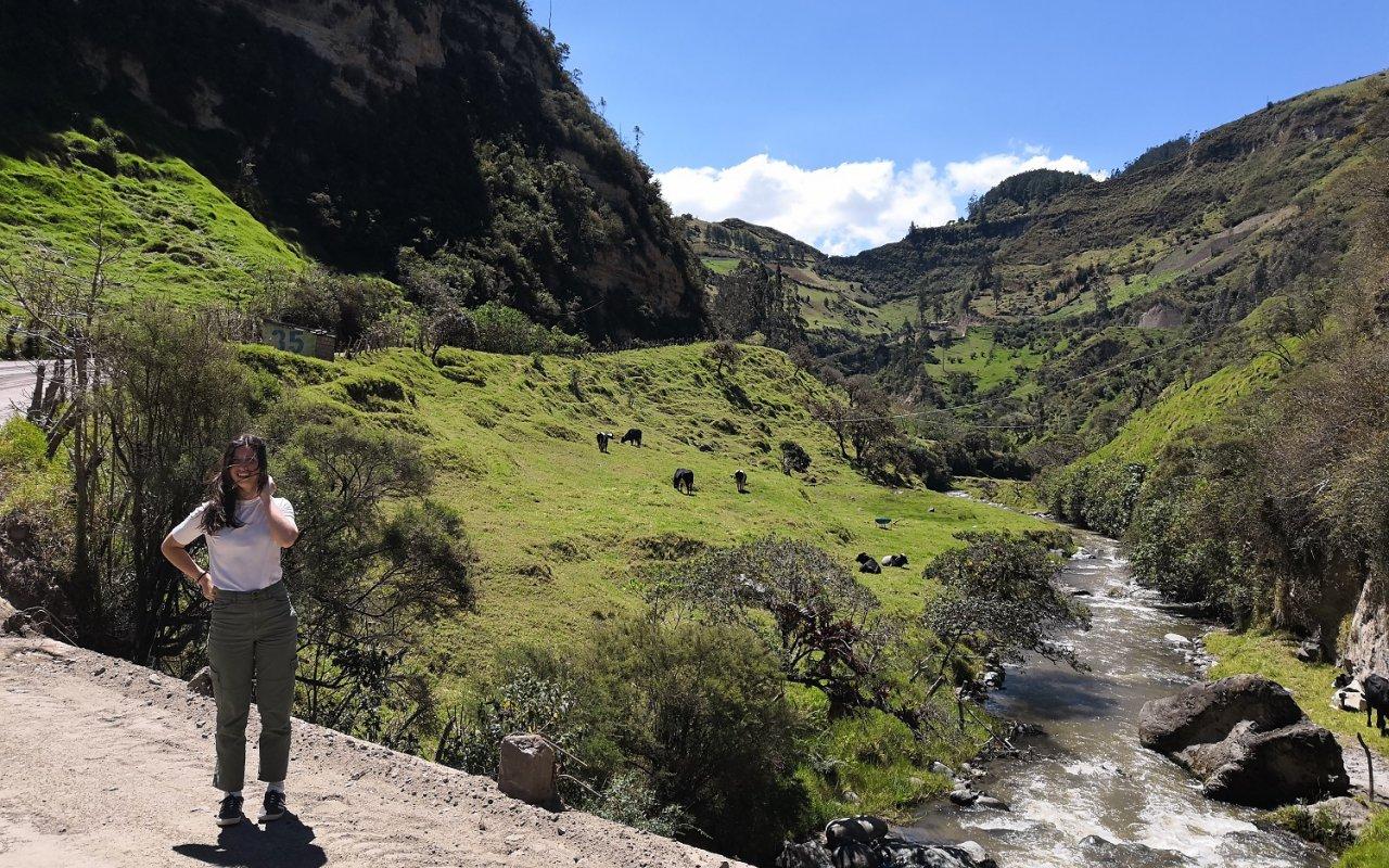 Les paysages croisés pendant notre temps d'attente – volcans en Equateur – Terra Ecuador