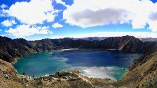 Sur l'Avenue des Volcans en Equateur !