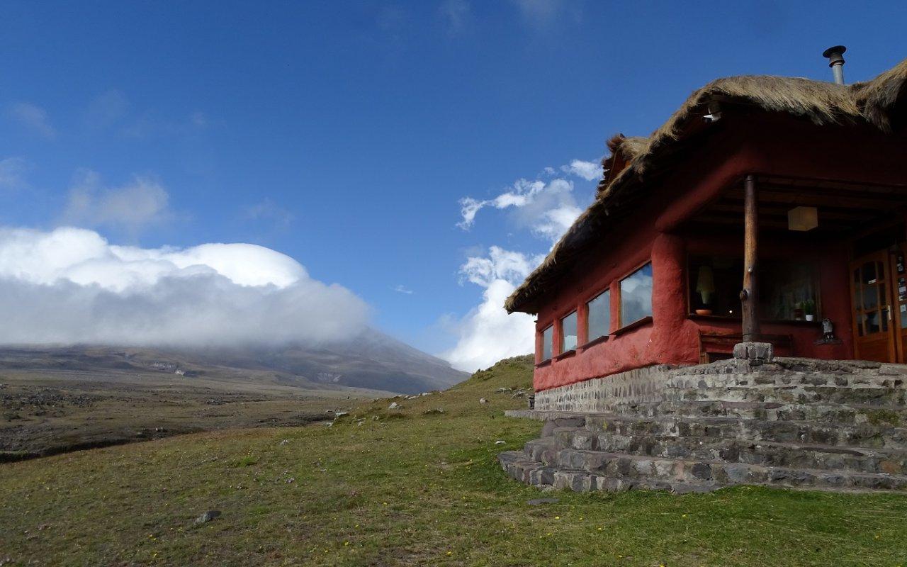 Depuis le parc du Cotopaxi – volcans en Equateur – Terra Ecuador