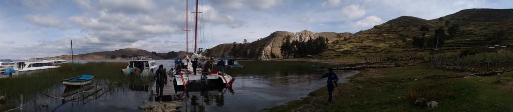 Playa Japari – Lac Titicaca – Bolivie