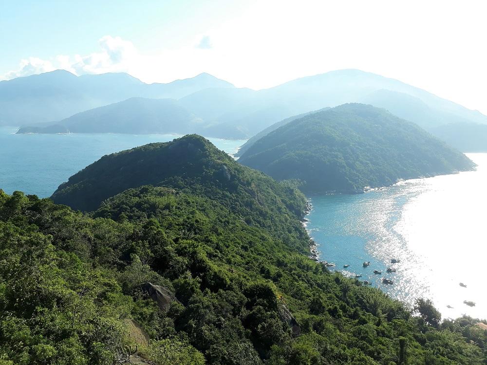 Point de vue sur la péninsule depuis le Phare – voyage au Brésil
