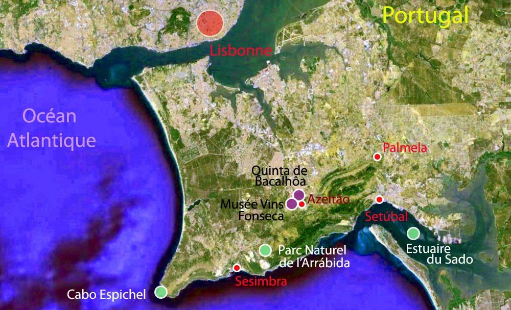 Les 8 étapes du voyage de Sandrine au Sud de Lisbonne, Portugal