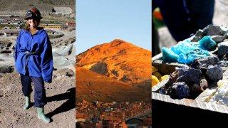 Potosi et les mines du Cerro Rico à Potosi, Bolivie