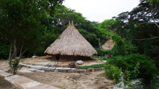 Pueblito, village indigène dans le parc Tayrona, Colombie