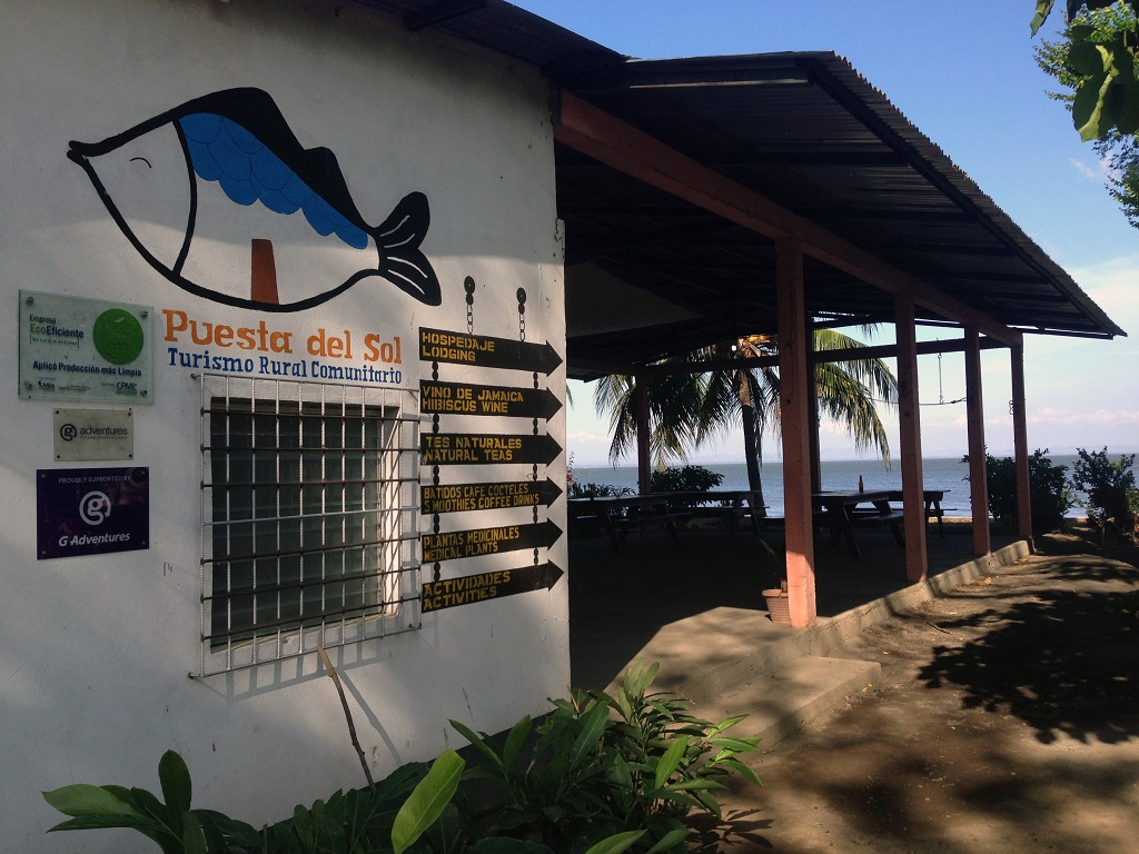 Puesta del sol, Nicaragua