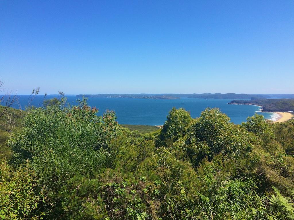 Putty beach & vue au loin Sydney – Australie