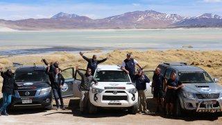 Photo Rallye Equipe Chili