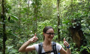 Marche dans la jungle de la réserve Indio Maiz – Nicaragua