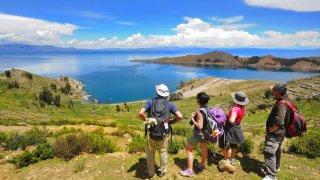 Randonnée sur l'île du Soleil – Lac Titica, Bolivie