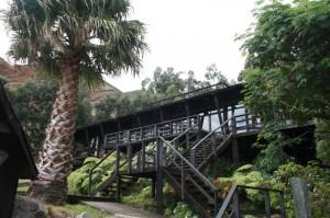 Hôtel sur l`île Robinson Crusoé, Chili