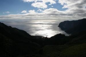 Vue panoramique – circuit sur l`île Robinson Crusoé, Chili