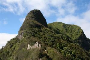 Tourisme sur l`île Robinson Crusoé au Chili