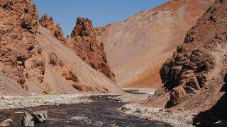 Rio Aguas Negras – Cordillère des Andes – Chili