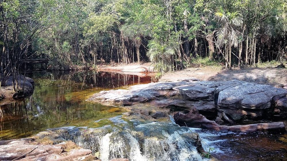 Source d'eau, Rio negro