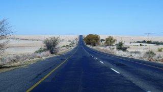Route au Lesotho