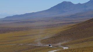 Route vers las lagunas Altiplanicas – Chili