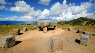 Ruines de Chincana, Isla del Sol, Bolivie