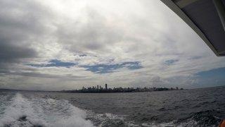 Salvador, départ du catamaran – voyage dans les îles du Nordeste au Brésil.